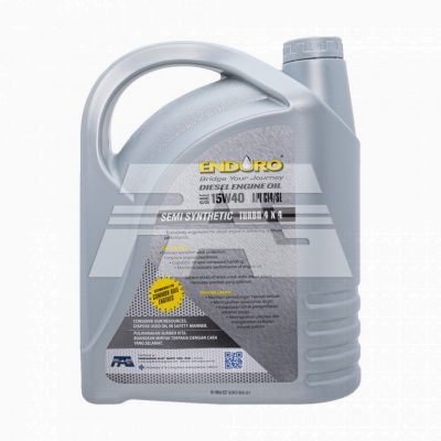Enduro Lubricant Engine Oil Semi Synthetic SAE 15W40 CI4/SL 7Liters