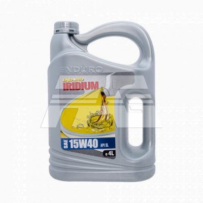 Enduro Lubricant Engine Oil Premium Mineral 15W40SL 4Liters
