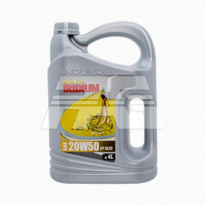 Enduro Lubricant Engine Oil Premium Mineral SAE20W50SG4L 4Liters -Suitable for all old vehicles