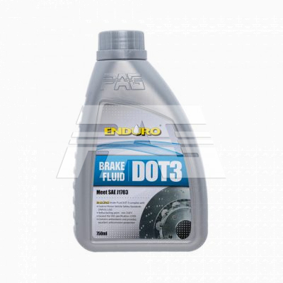 Enduro Brake Fluid Dot3 750ml